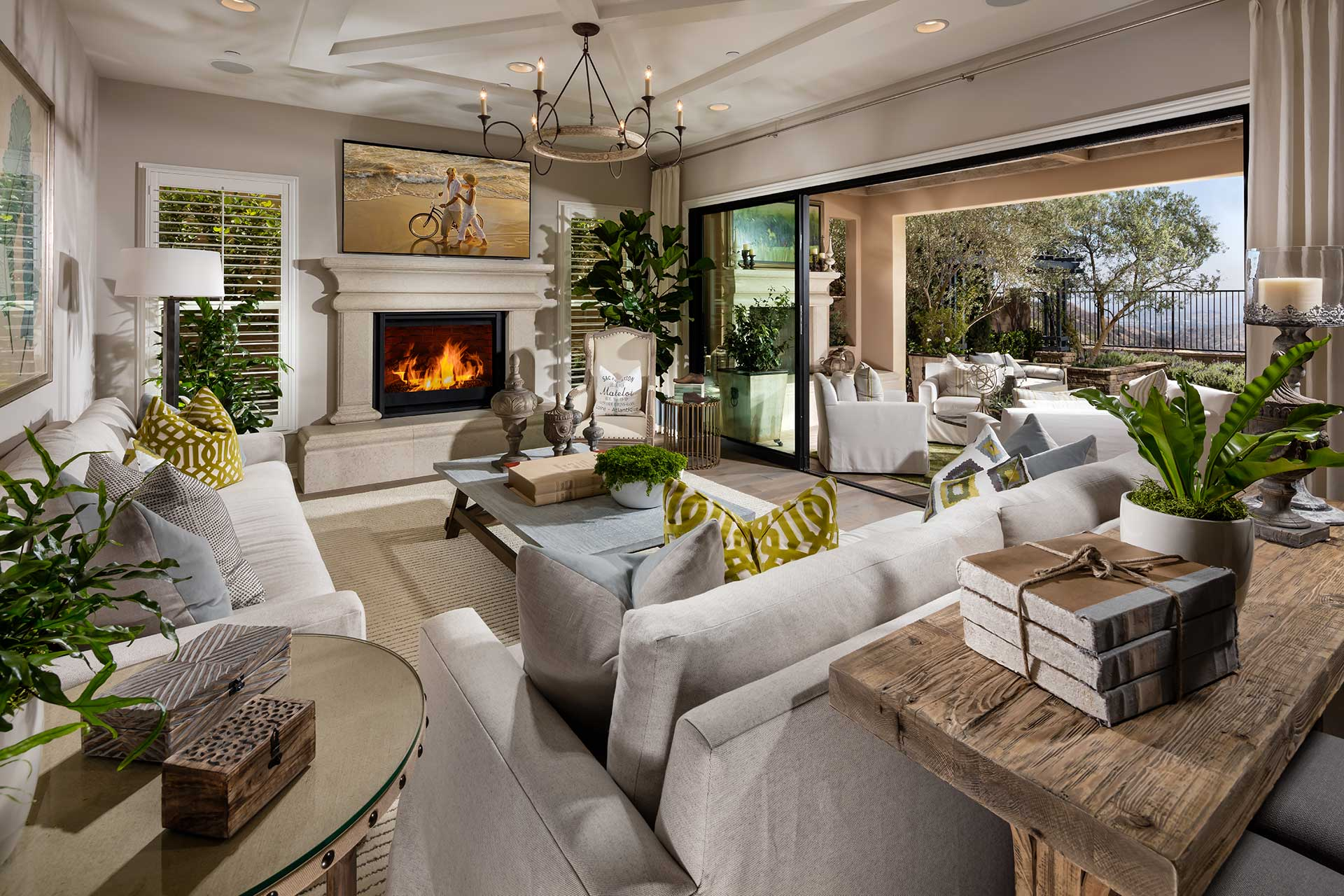 Madison Tuscan Family Room