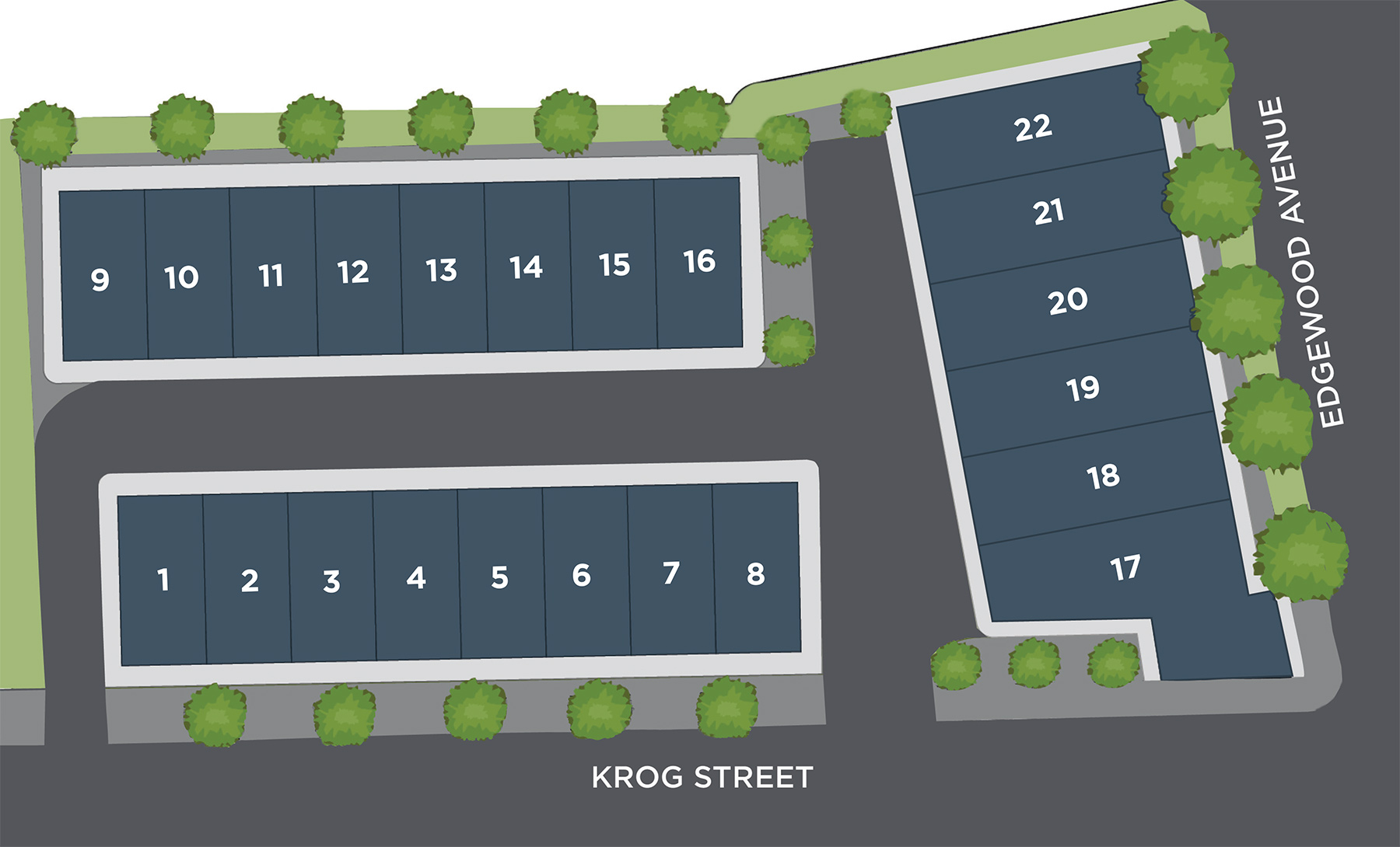 Emerson On Krog Site plan