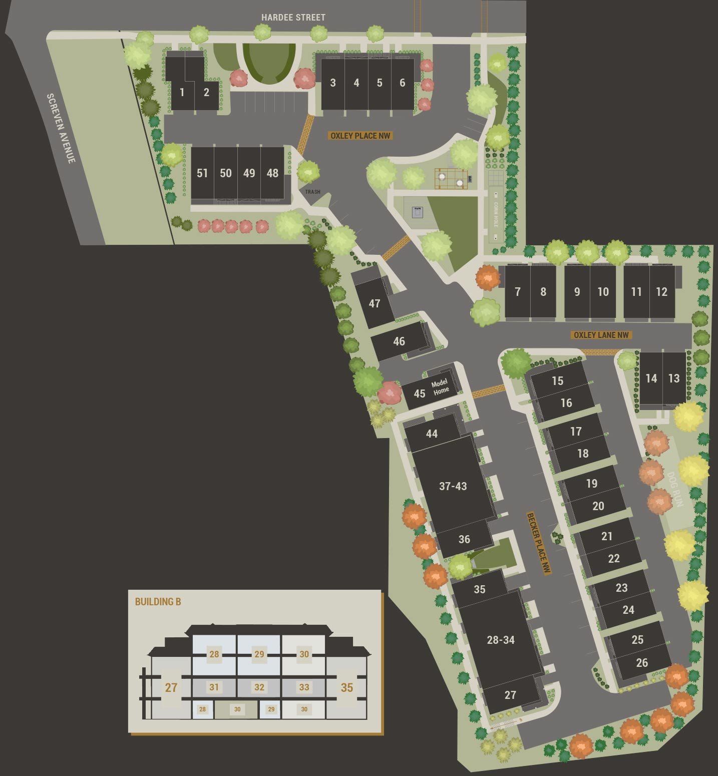 Oxley Edgewood Site plan