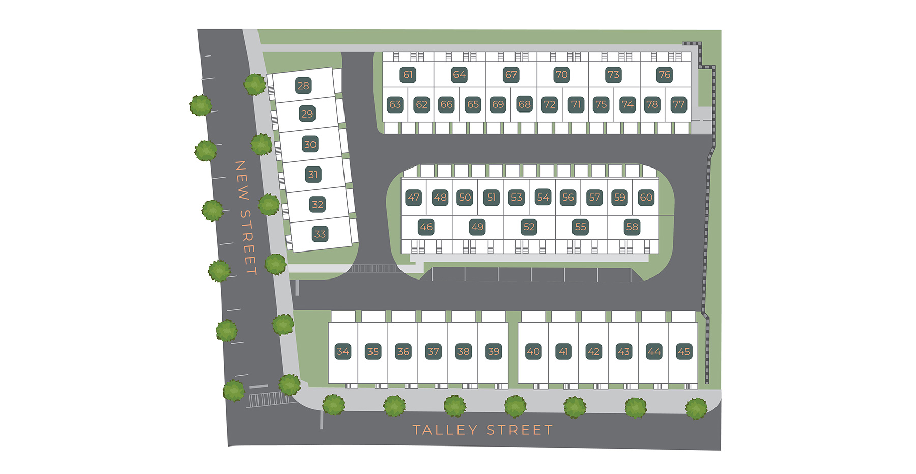 New Talley Station Site plan