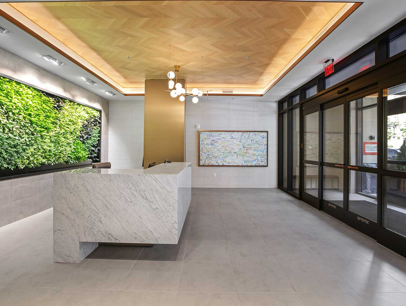 1000 Maxwell Place lobby