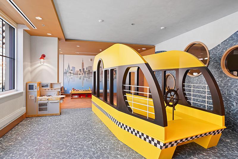playroom at 1000 Maxwell Place