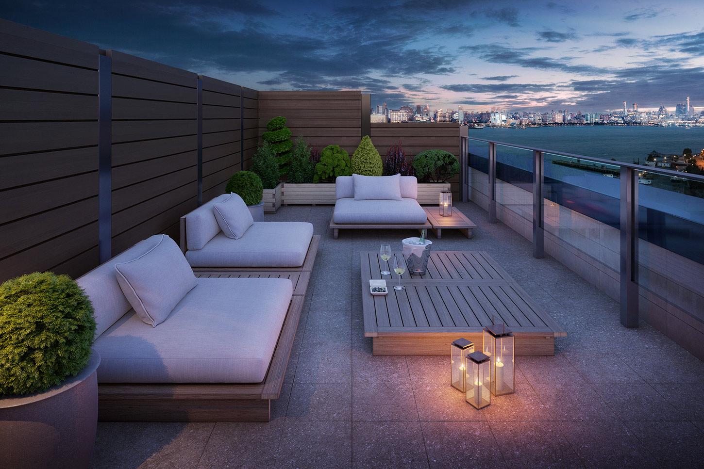 Outdoor space at 1000 Maxwell Place