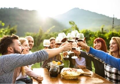 People having drinks