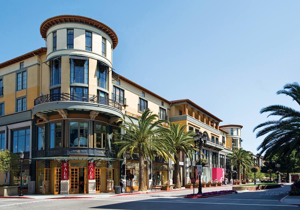 Santana Row shopping district