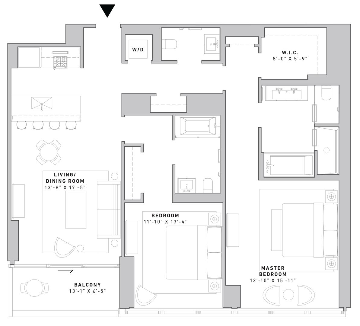 N701 Floor Plan