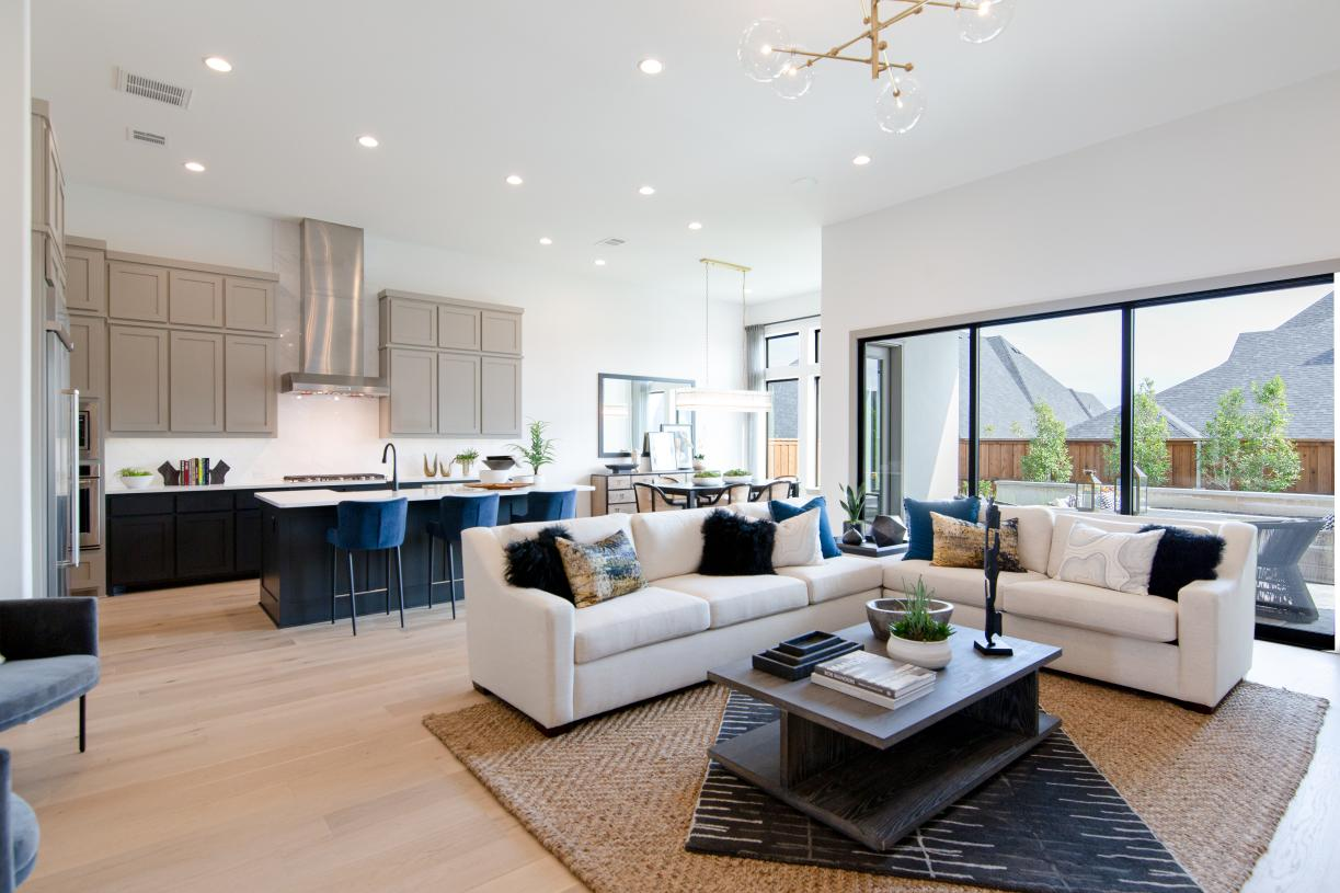 Bright and open plan living