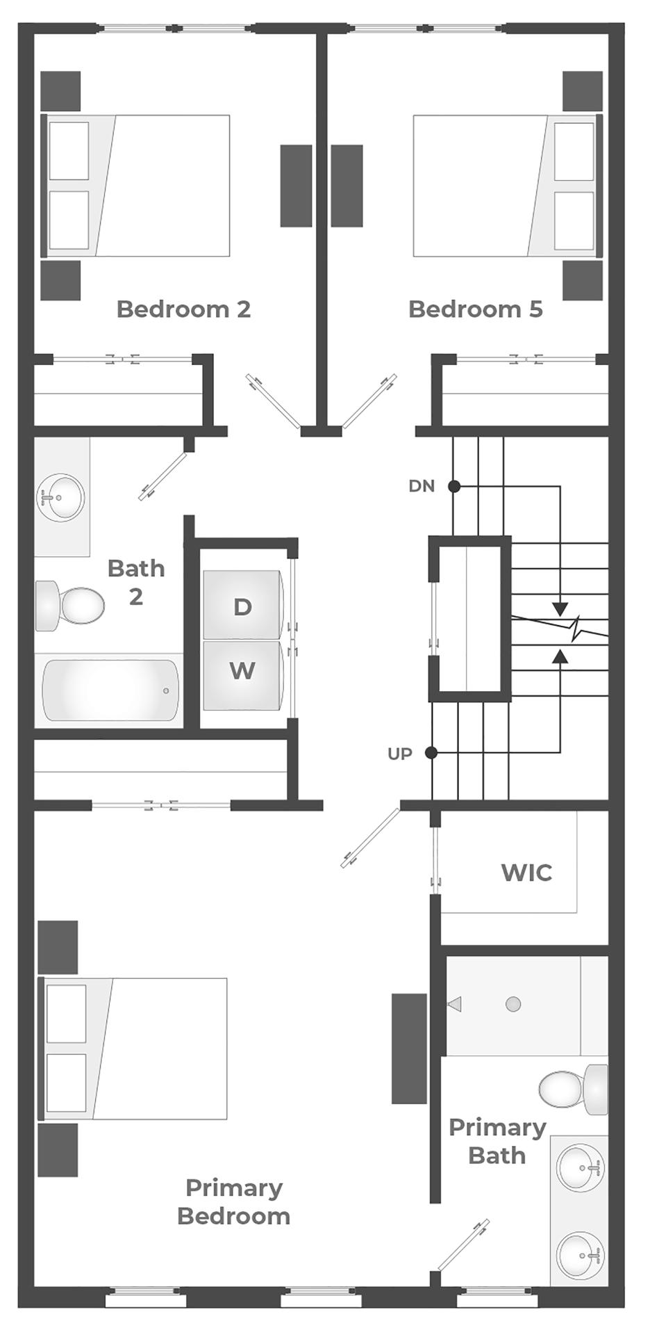 3rd Floor (Alternate) Floor Plan