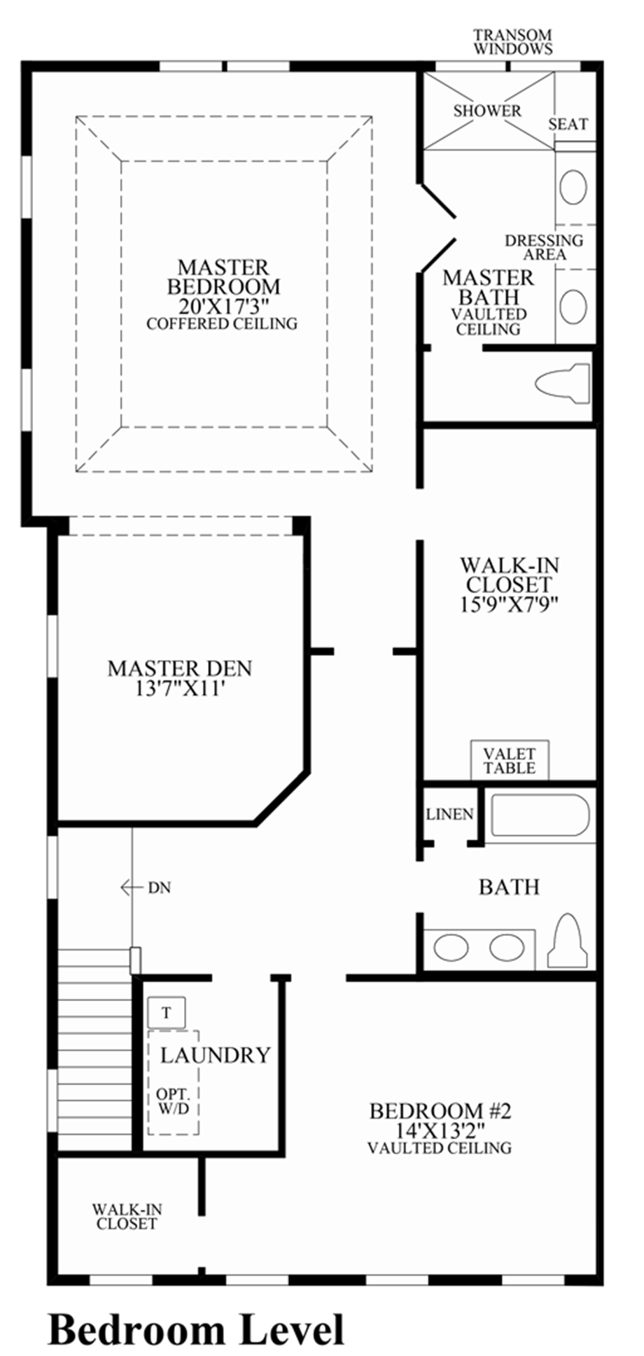 Toll brothers at valeria the abbott home design for Design your own bedroom floor plan