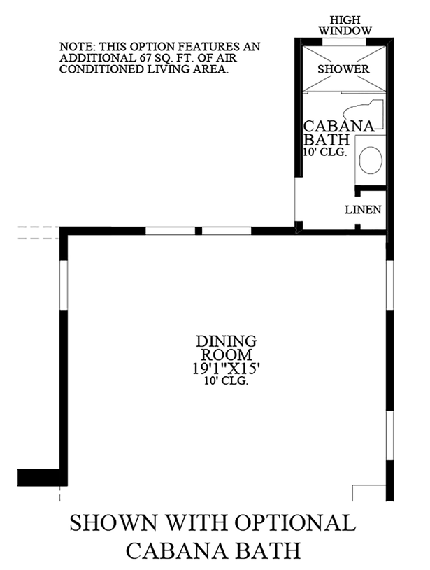 Julington Lakes - Optional Cabana Bath