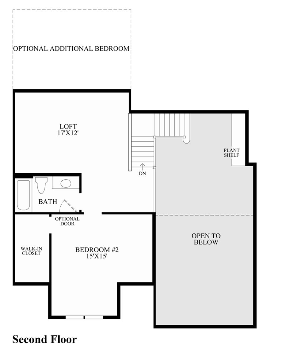 Regency at prospect quick delivery home acorn elite for Acorn house designs