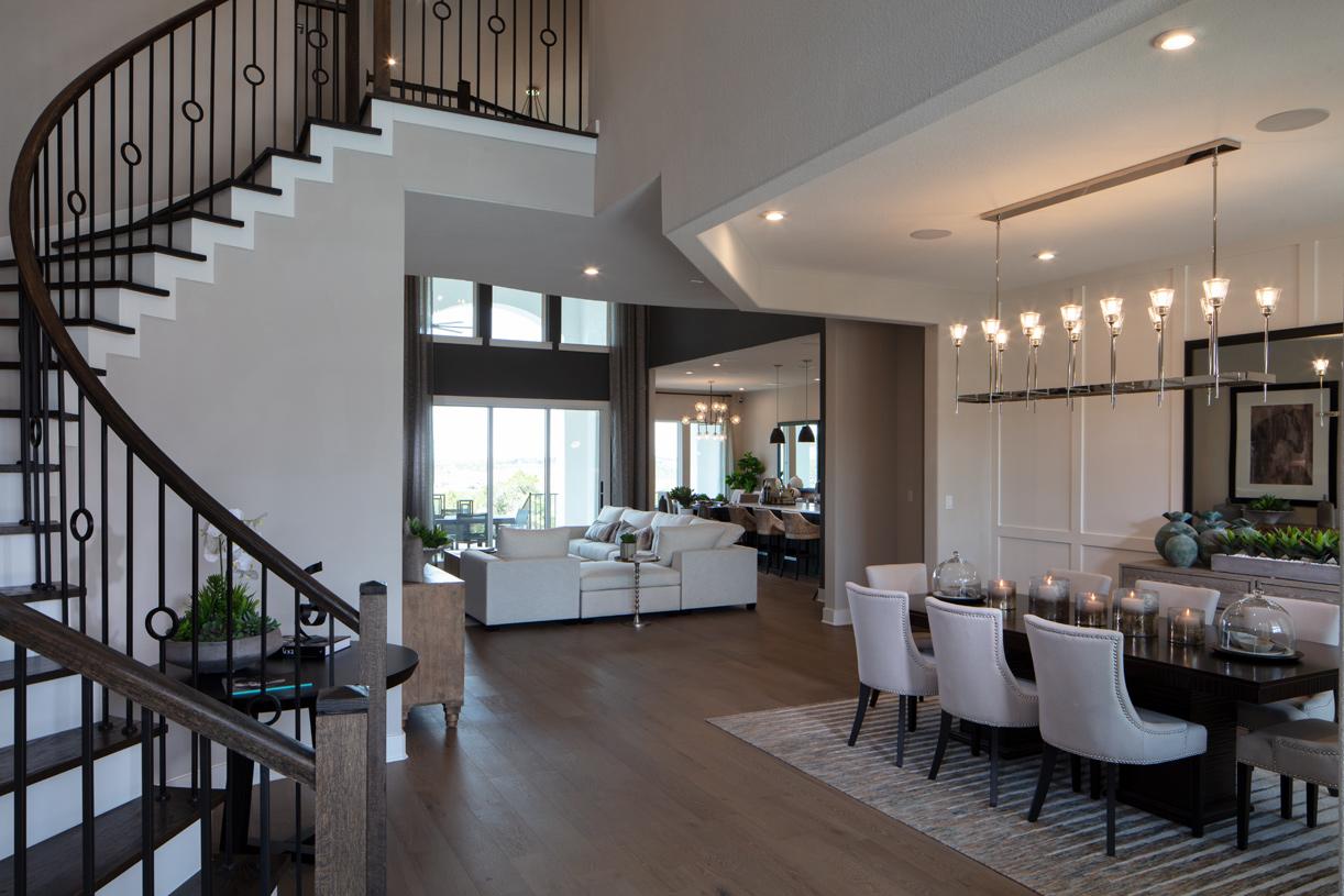 Adalyn Foyer and Formal Dining Room