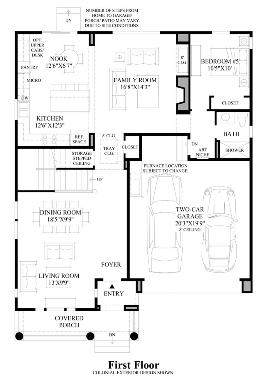 Woodhaven Floor Plan 4 Bedroom Townhouse Far