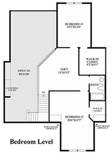 Alder II - Bedroom Level