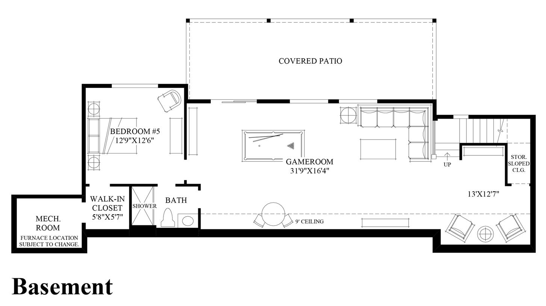 pipers glen the ballard with basement home design