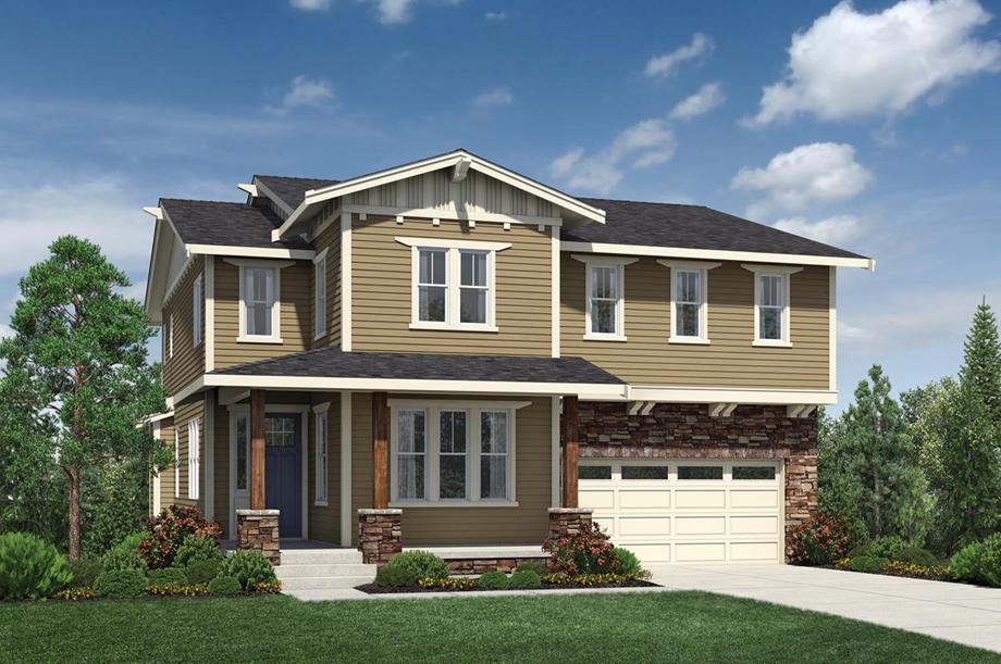 homes designs pictures. The Craftsman Talon Ridge  Jefferson with Basement Home Design