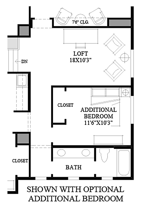 Talon ridge the jefferson with basement home design for Dwell homes floor plans