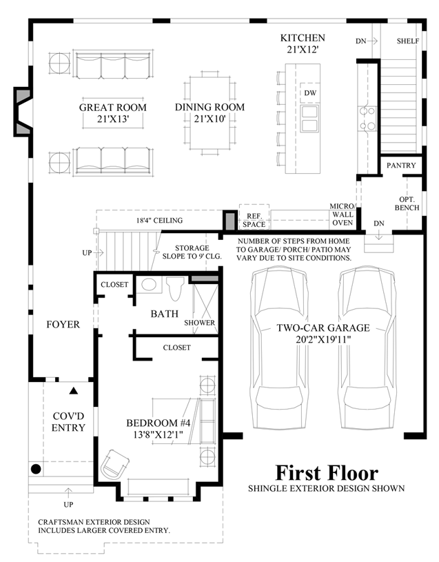 New luxury homes for sale in redmond wa crestview for Dwell floor plans