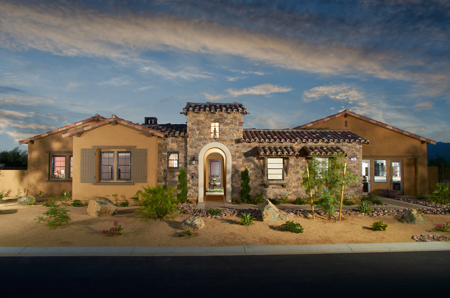 Toll brothers at escala the amalfi home design for Luxury tuscan house plans