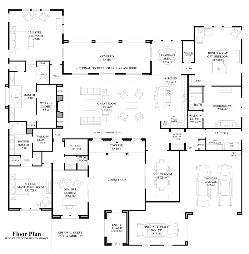 Amalfi - Floor Plan