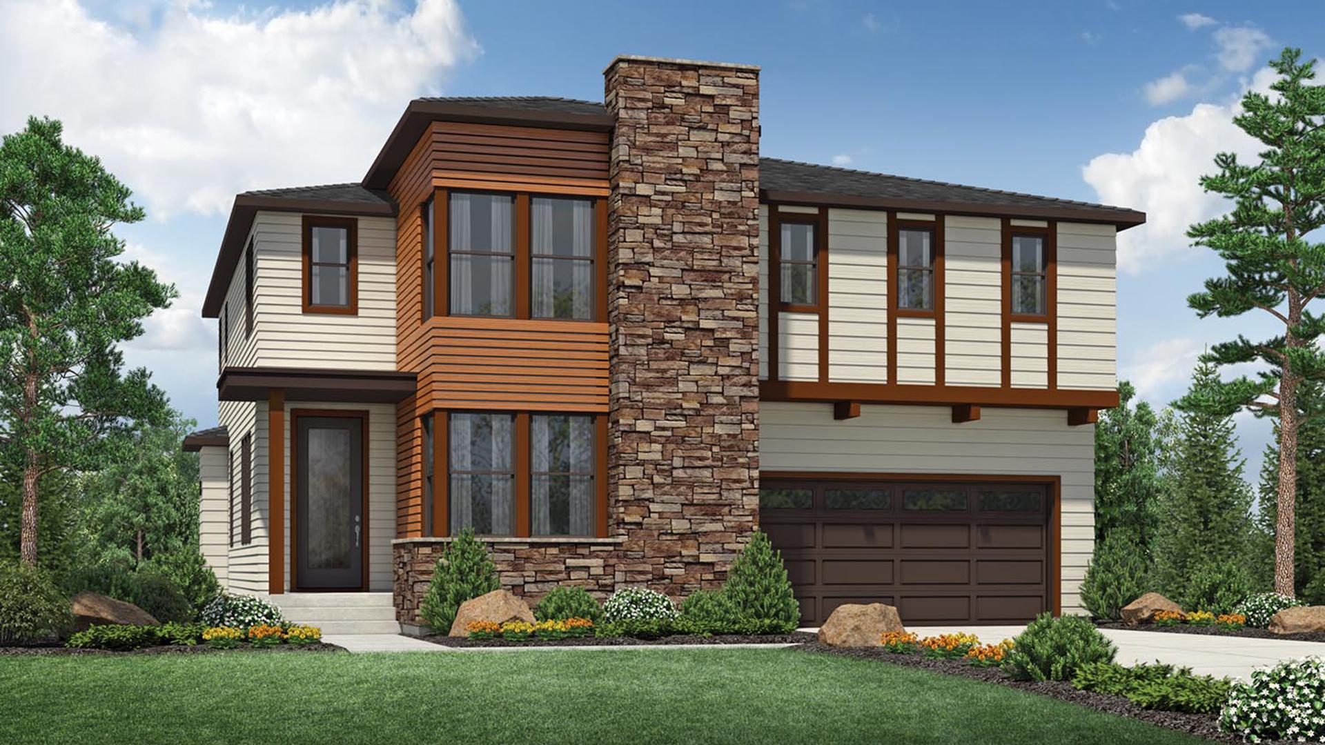 Ames Northwest Contemporary Sammamish WA New Construction