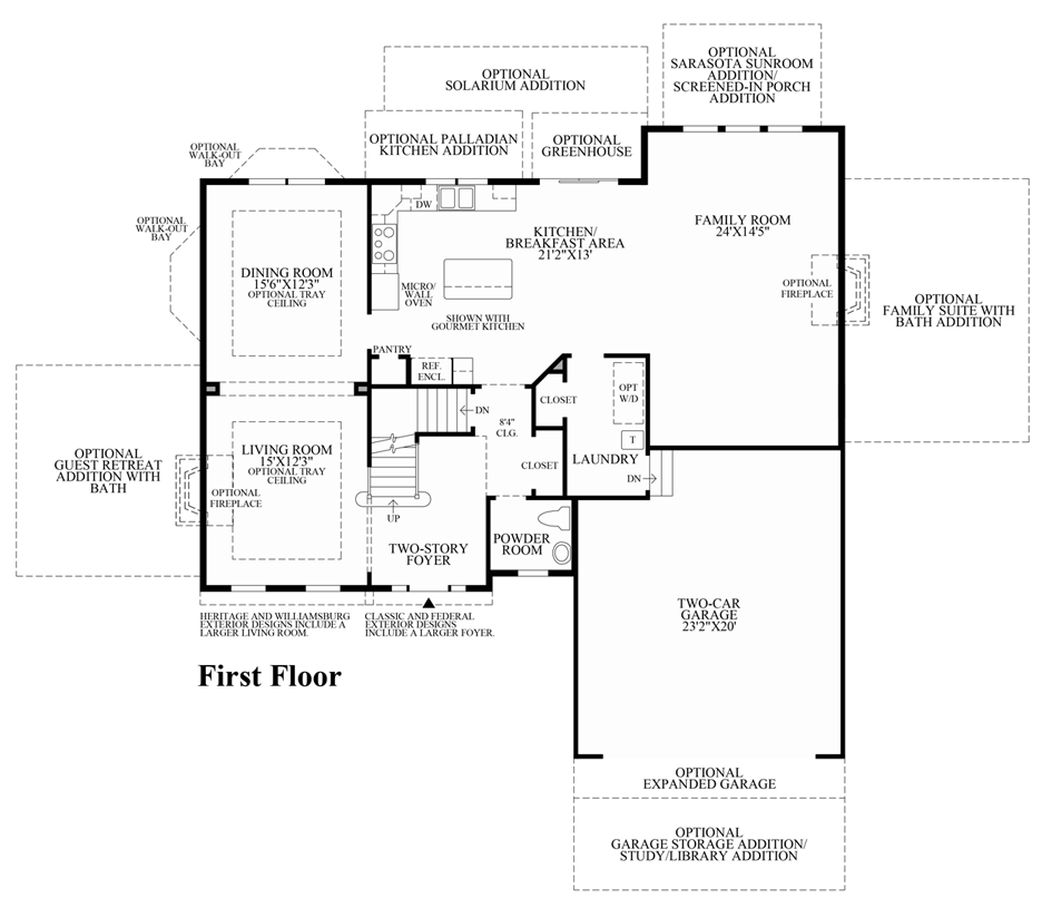 Hamlet meadows the amherst home design for Mi home plans