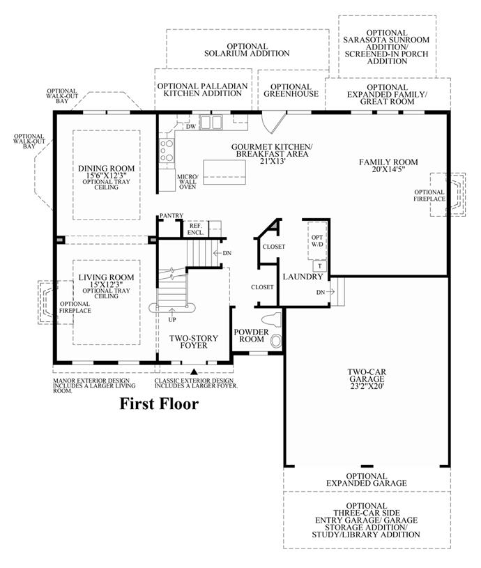 Amherst - 1st Floor