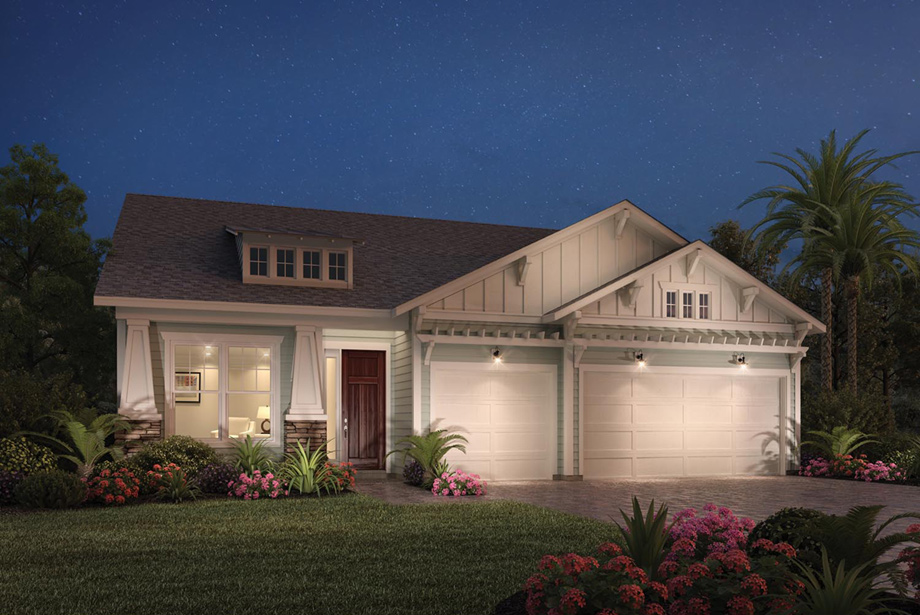 Coastal oaks at nocatee ambassador collection the for Craftsman homes for sale in florida