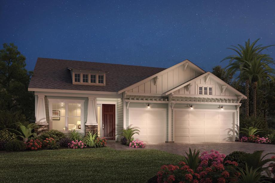 Ponte vedra fl new homes for sale coastal oaks at for Craftsman homes for sale in florida