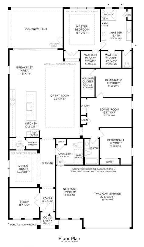 Anastasia - Floor Plan