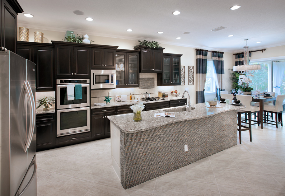 Atlantic beach fl new homes for sale toll brothers at for Model home kitchen images