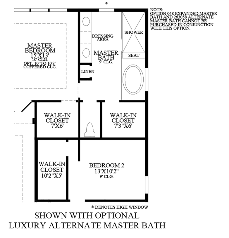 Julington Lakes - Optional Luxury Alternate Master Bath