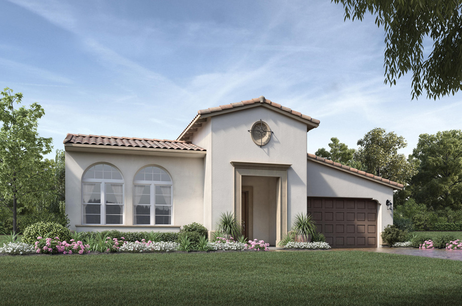 Toll brothers at robertson ranch the terraces the la for Ranch model homes