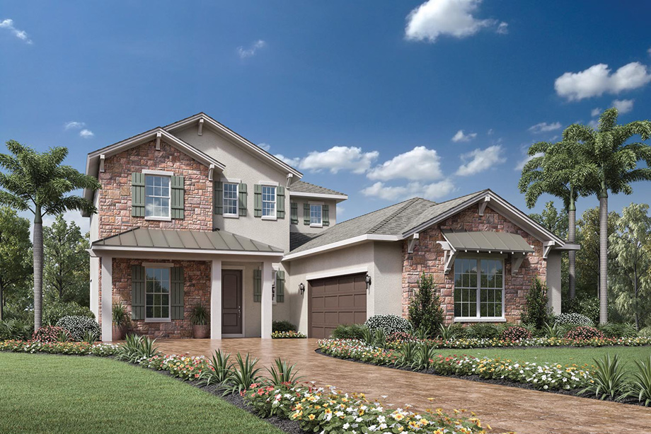 Coastal Oaks At Nocatee Heritage Collection The Anna