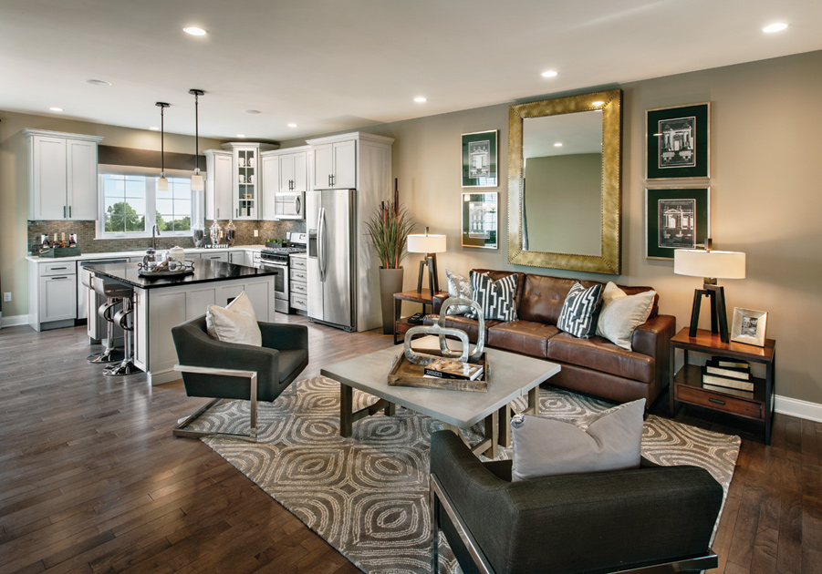 Rivington by Toll Brothers - The Village Collection   The Ansford ...