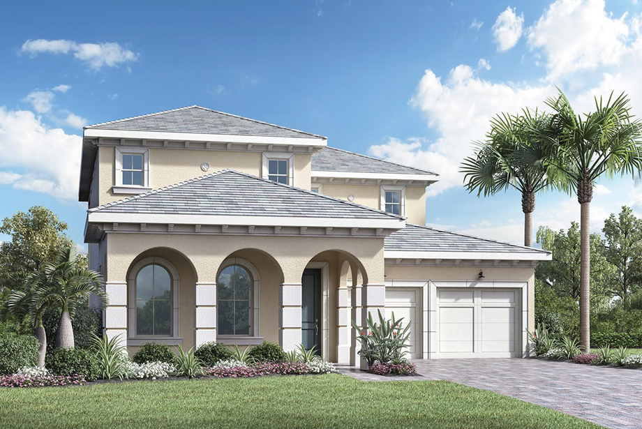 the palm beach - Winter Garden New Homes