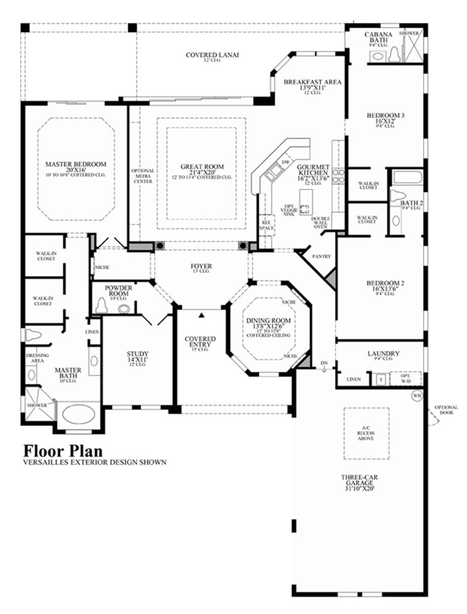 Aragon Floor Plan