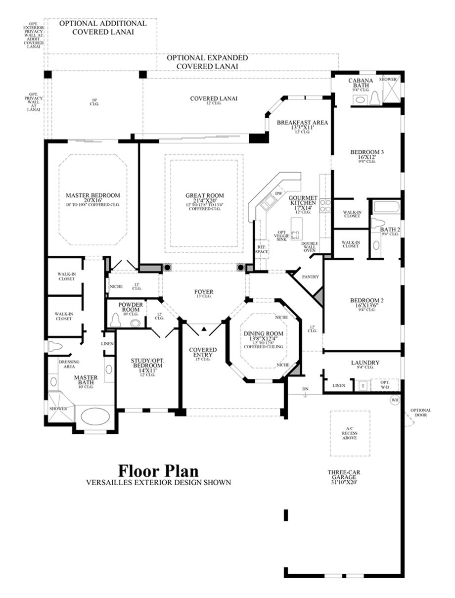 Bonita Lakes Estates Collection The Aragon Home Design