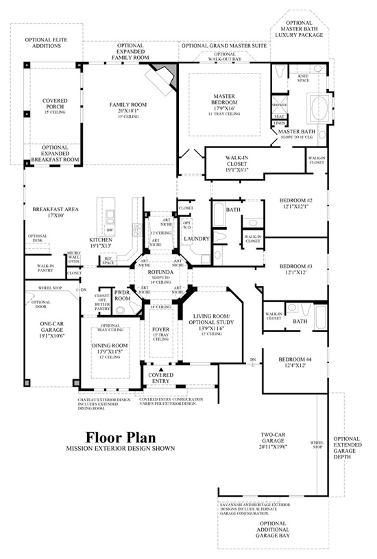 Arborglen - Floor Plan