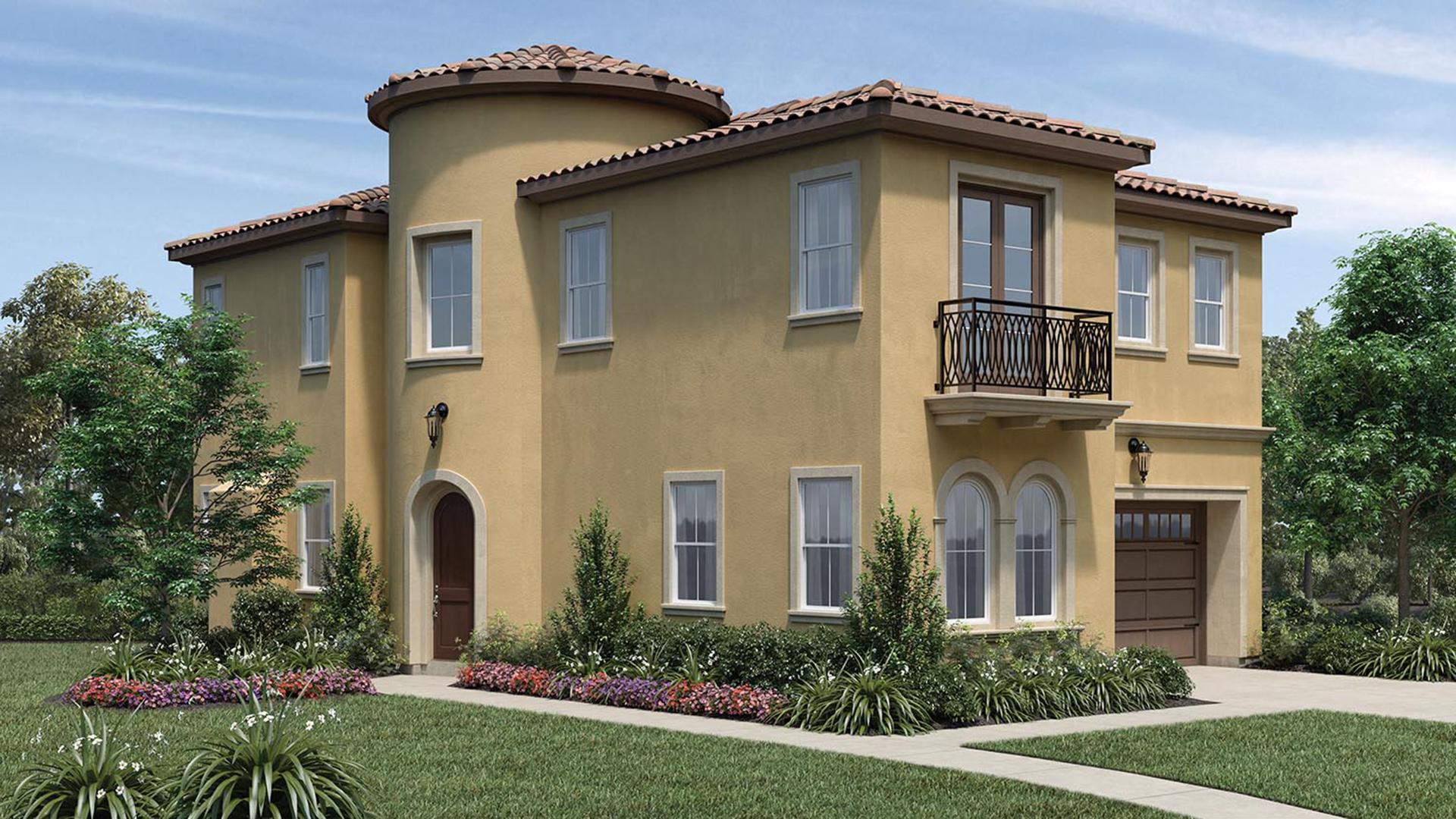 San Ramon Ca New Construction Homes Serena At Gale Ranch