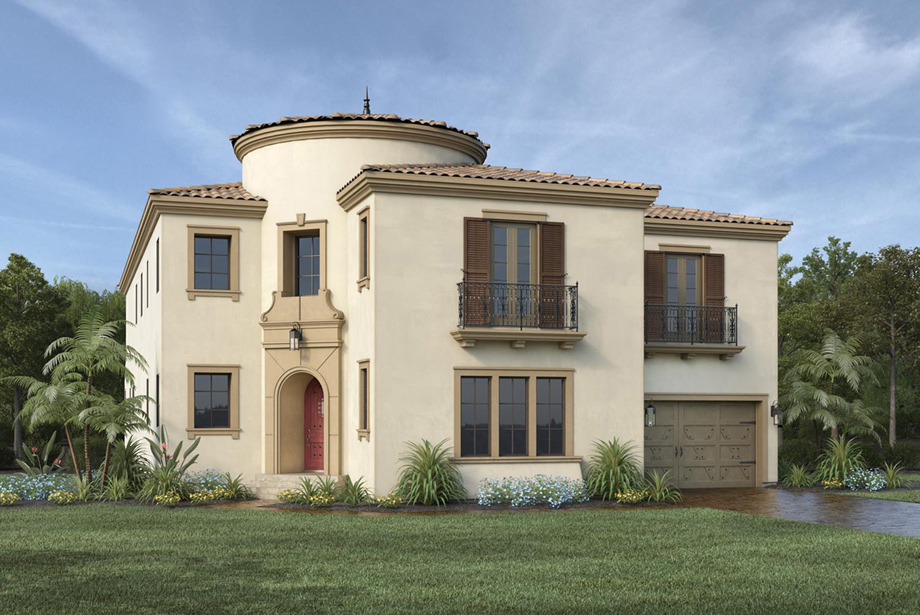 Westcliffe at porter ranch palisades collection the for Spanish colonial house plans