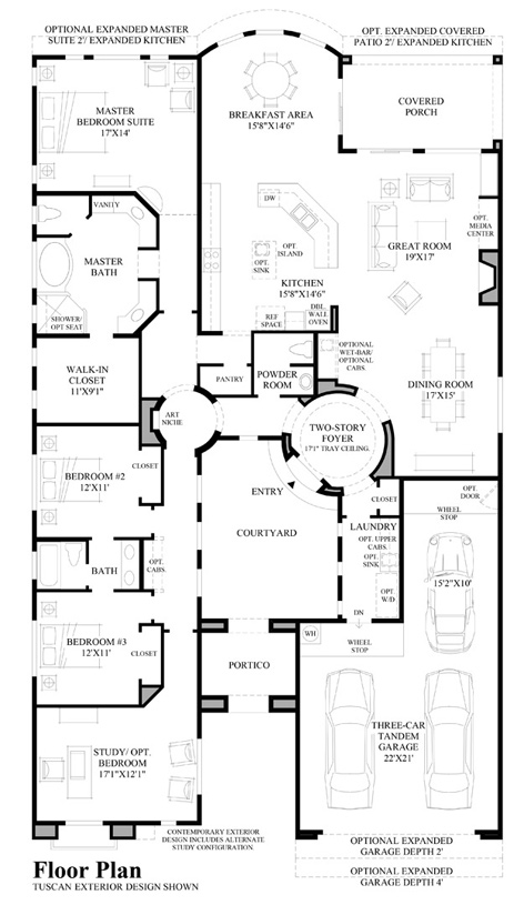Arroyo - Floor Plan