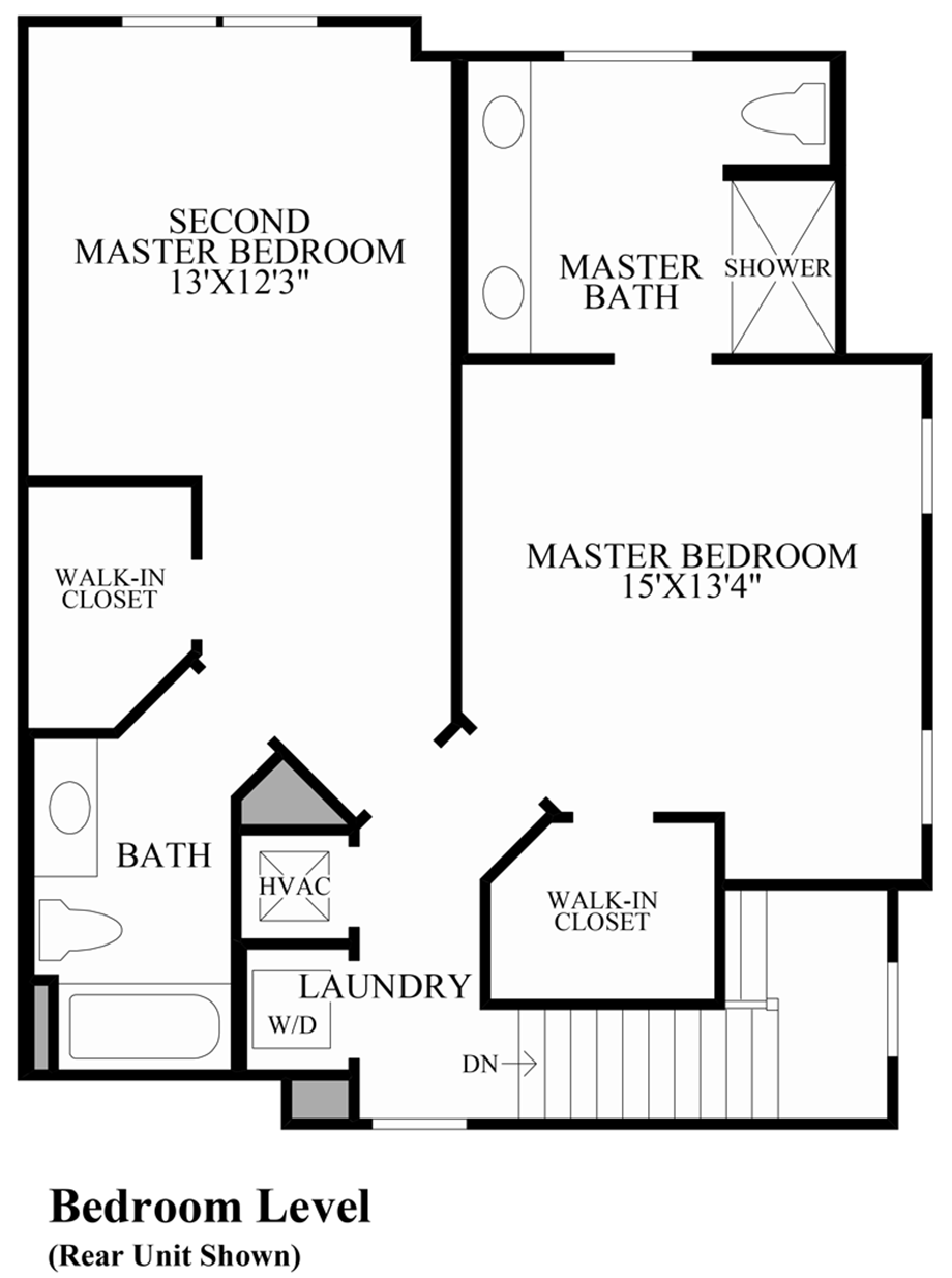 Bedroom Level