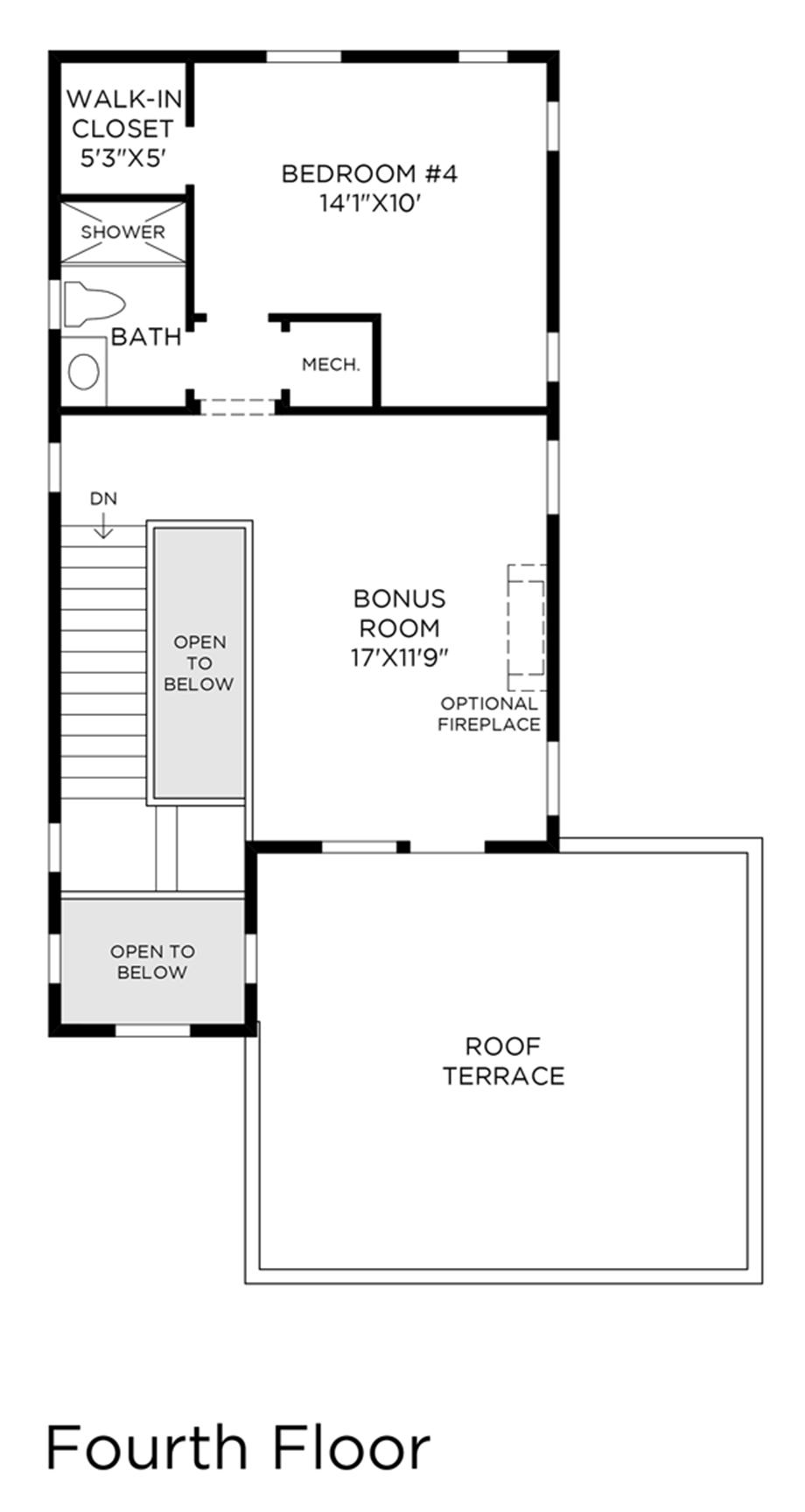 4th Floor Floor Plan