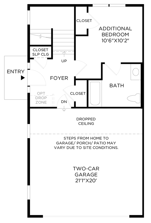 Optional Additional Bedroom