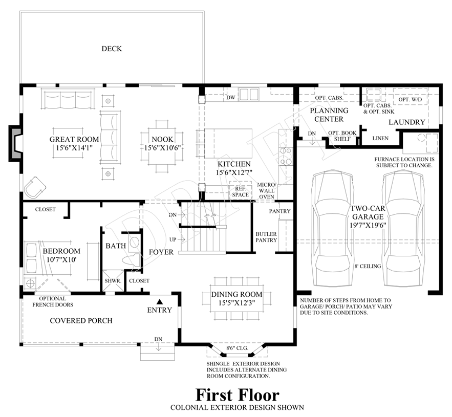 Carrington floor plan ryland homes thefloors co for New home construction floor plans