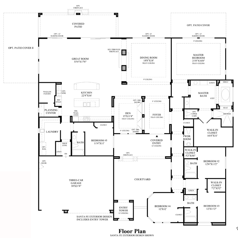 Ashmore - Floor Plan