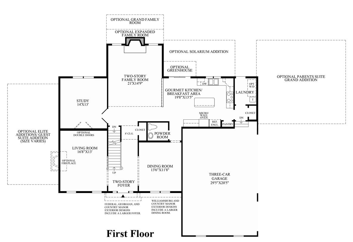 westridge estates of canton the columbia ii home design
