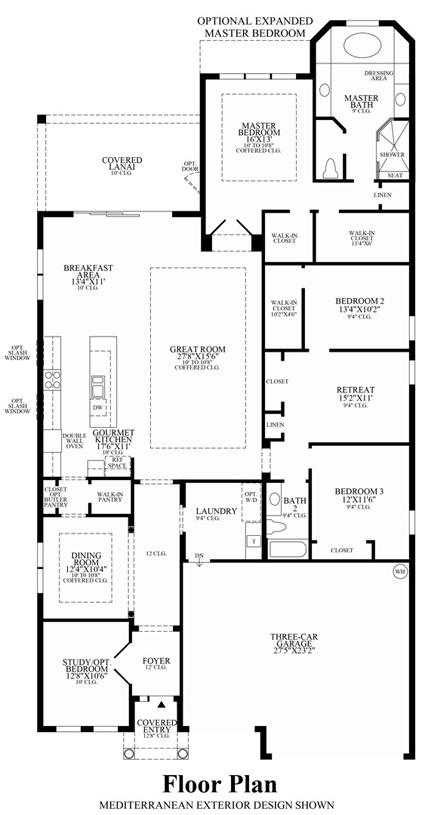 Athena - Floor Plan