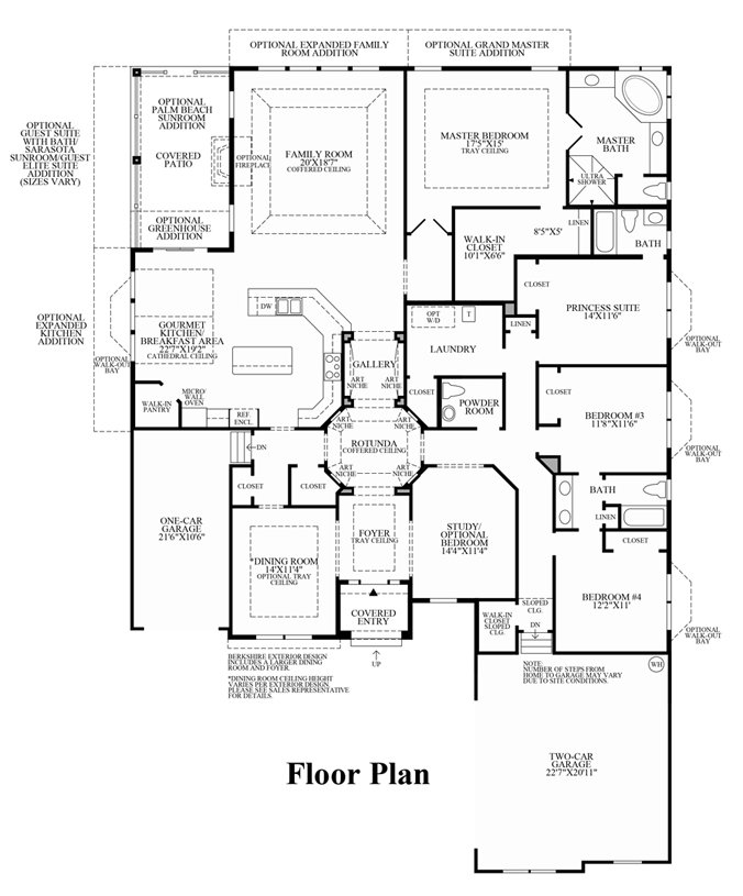 Audubon - Floor Plan